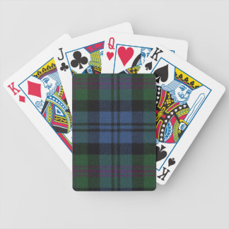 Playing Cards Baird Ancient Tartan Print