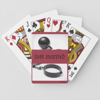 "Playing Cards ""Ball and Chain"""