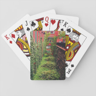 Playing Cards - Brick & Ivy Scene - Full Color
