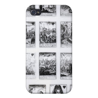 Playing cards commemorating iPhone 4 covers