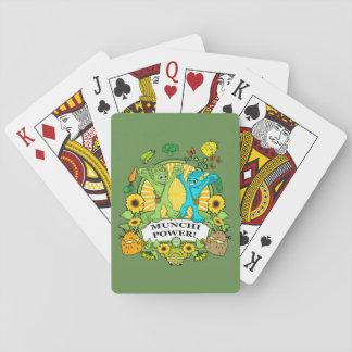 Playing Cards  Deck Munchi Power!  MR & MRS VEGGIE