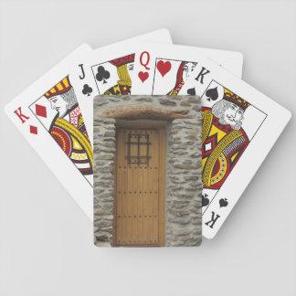 Playing Cards Door