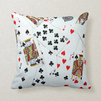 Playing Cards Games Room Poker Night Cushions
