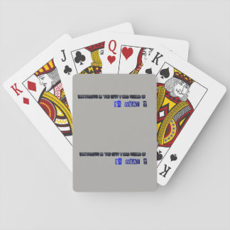playing cards -i was raised in dartmouth so what?