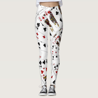 Playing Cards Leggings
