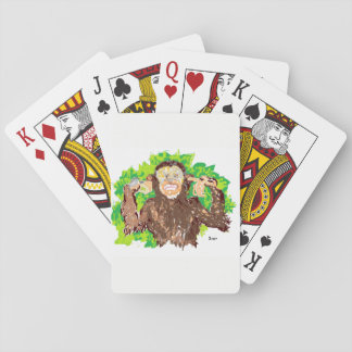 Playing Cards /Monkey