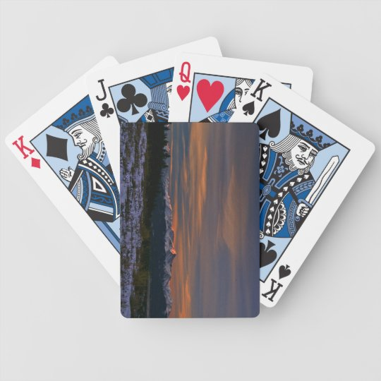 Playing Cards: Mt Elbert Sunrise Bicycle Playing Cards
