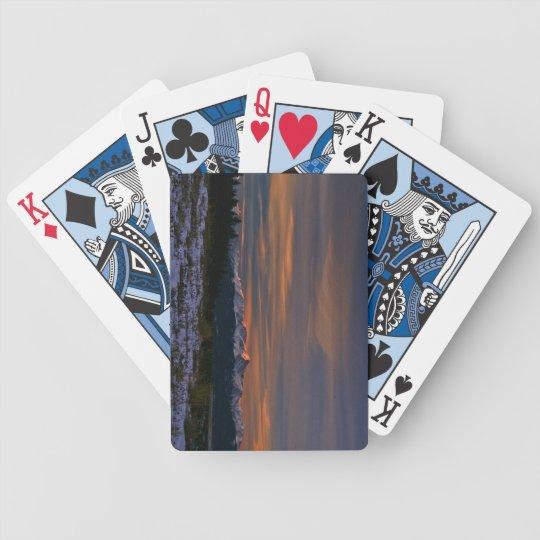 Playing Cards: Mt Elbert Sunrise Poker Deck