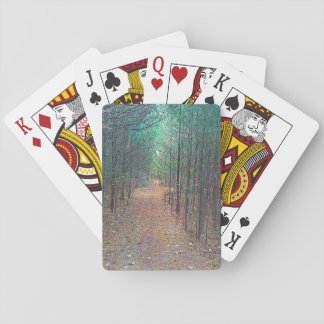 Playing Cards - Nature Trail Pattern Full Photo