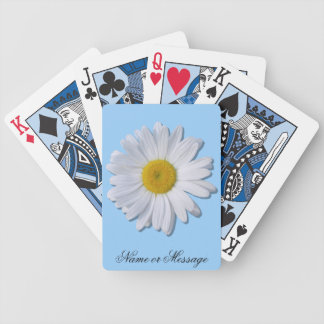Playing Cards - New Daisy on Blue