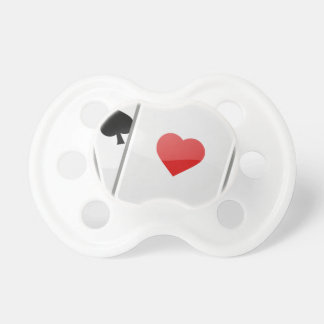 Playing Cards Pacifier