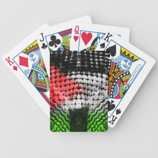 Playing Cards (PALESTINE ARABIC SCARF)