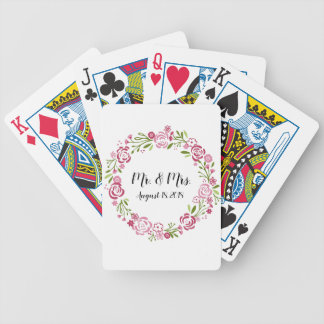 Playing Cards Personalized Wedding Favor