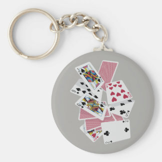 Playing Cards - Play To Win - Lucky Charms Keychain