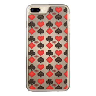 Playing Cards Poker Game Pattern Iphone Case