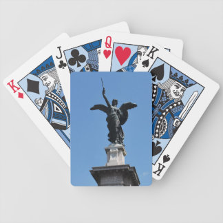 Playing cards - Roman statue