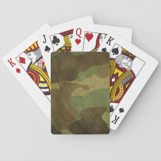 Playing Cards, Standard Index Faces - Camo Poker Deck
