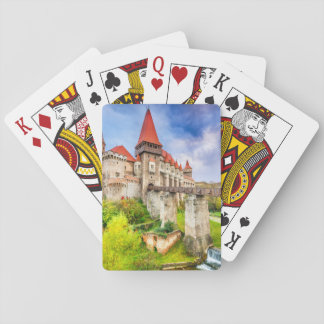 Playing Cards, Standard Index faces Corvin castle Playing Cards