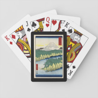 Playing Cards, Standard Index faces Japanese Print Playing Cards