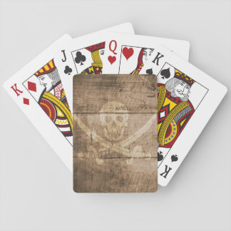 Playing Cards, Standard Index Faces - Skull Poker Deck