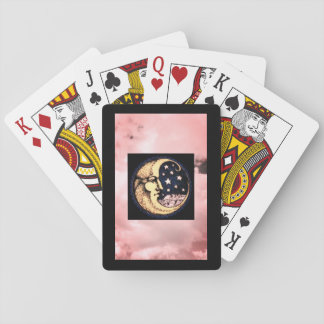 Playing Cards, Standard Index faces W/ MOON & STAR Playing Cards