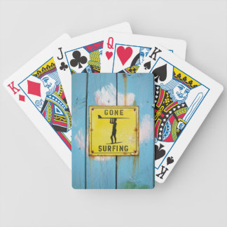 Playing cards - surf theme