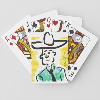 "Playing Cards - ""Texan Man"""