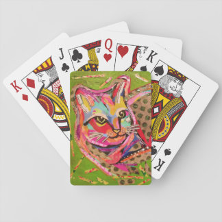 Playing Cards with Cool Cat Design
