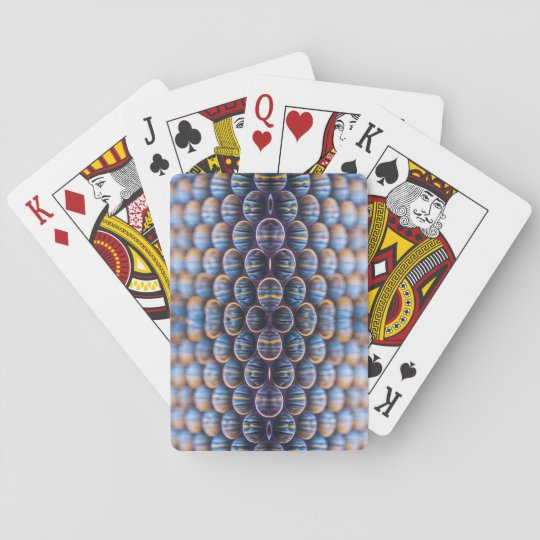 Playing Cards with front image of honeycomb