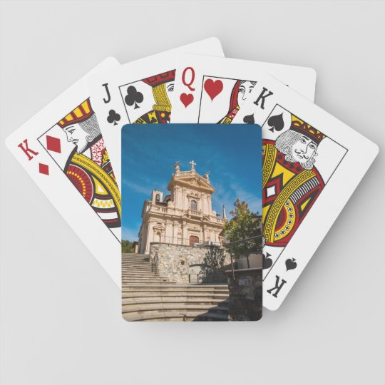 Playing Cards with front image of Old Church