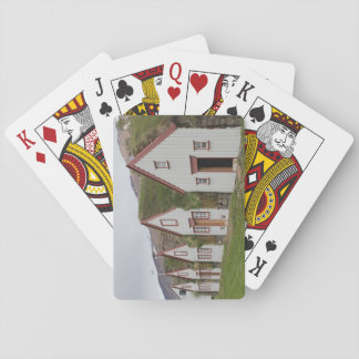 Playing Cards With Traditional Icelandic Houses