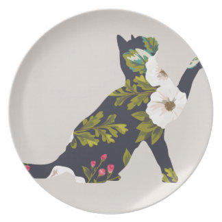 Playing Cat Party Plates
