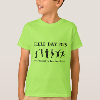 Playing Children Field Day T-shirt