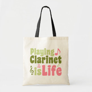 Playing Clarinet is Life Tote Bag