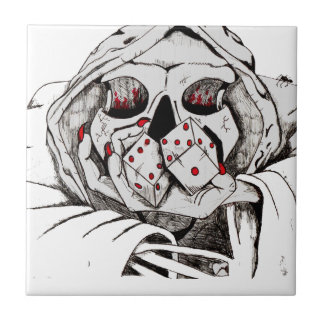 playing dice with the reaper ceramic tiles