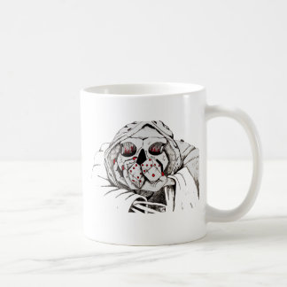 playing dice with the reaper coffee mug