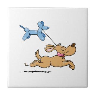 Playing Dog Tile