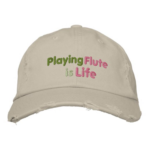 Playing Flute is Life Baseball Cap