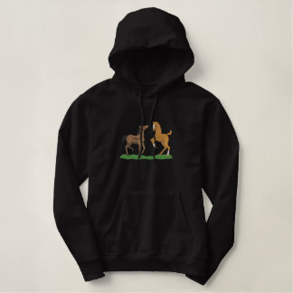 Playing Foals Embroidered Hoodie