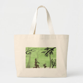 Playing For A Friend Large Tote Bag