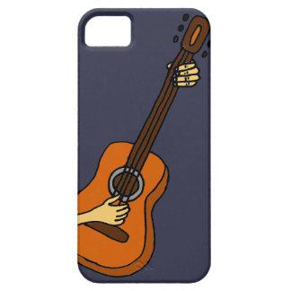 Playing Guitar Art Original iPhone 5 Cover