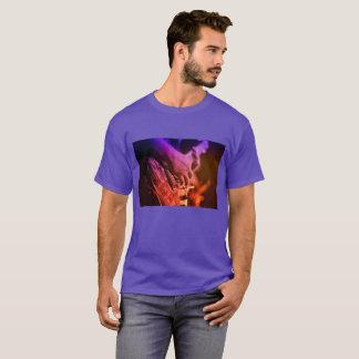 Playing Guitar Night Mood T-Shirt