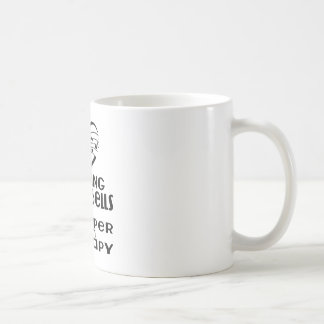 Playing Handbells Is Cheaper Than Therapy Coffee Mug