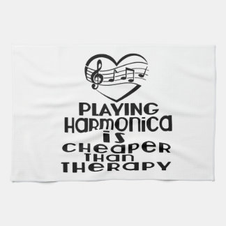 Playing Harmonica Is Cheaper Than Therapy Towels