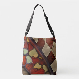 Playing Hide n Seek with the Queen of Hearts Crossbody Bag