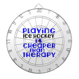 Playing Ice Hockey Cheaper Than Therapy Dart Board
