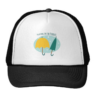 Playing in Puddles Trucker Hat