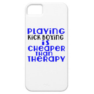 Playing Kick Boxing Cheaper Than Therapy iPhone 5 Covers