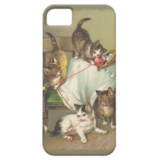 Playing Kittens iPhone 5 Case