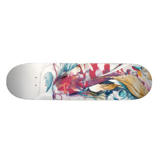 Playing Koi Skateboard Decks